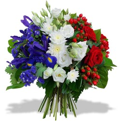 Bouquet Bleu Blanc Rouge