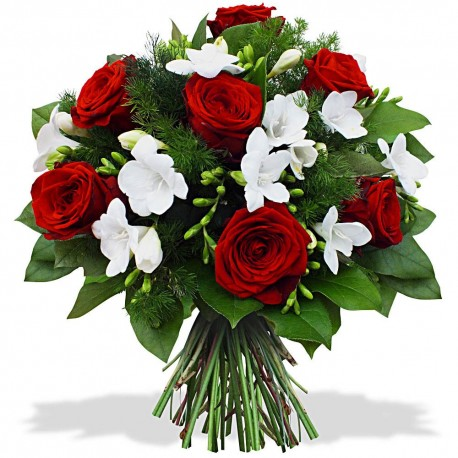 Bouquet Rubis & Diamant